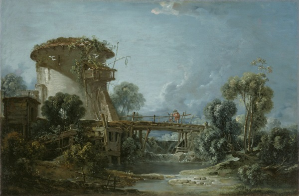 François Boucher, *The Dovecote*, 1758