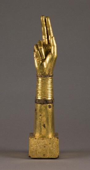 Bras reliquaire, v. 1050-1100