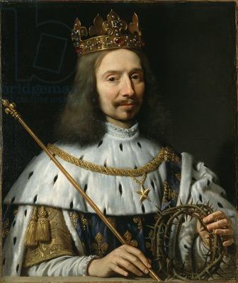 Philippe de Champaigne, *Vincent Voiture as Saint Louis*, c. 1640-48