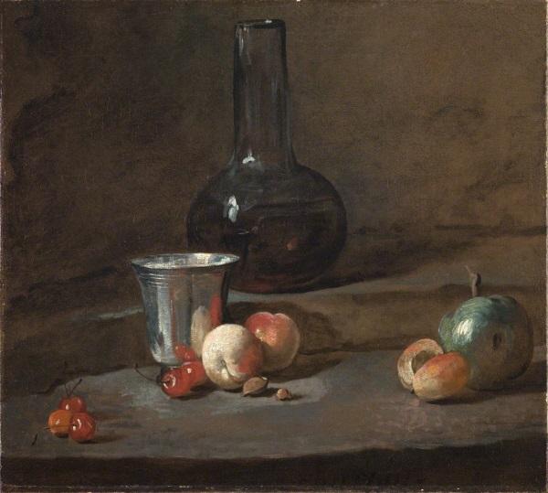 Jean Siméon Chardin, *Le Gobelet d'argent*, v. 1728
