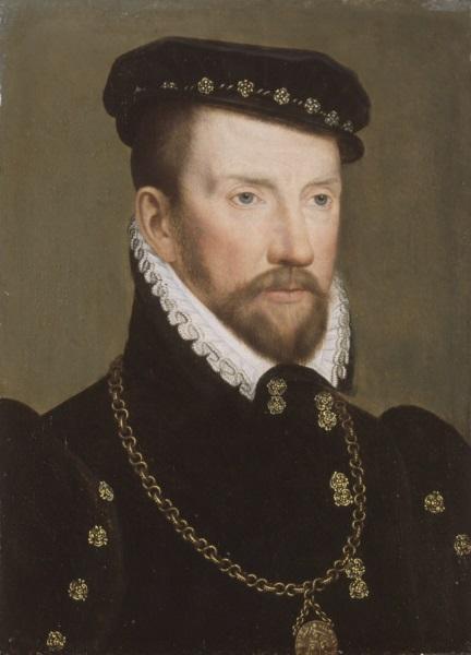 François Clouet, *L'Amiral Gaspard II de Coligny*, 1565-70
