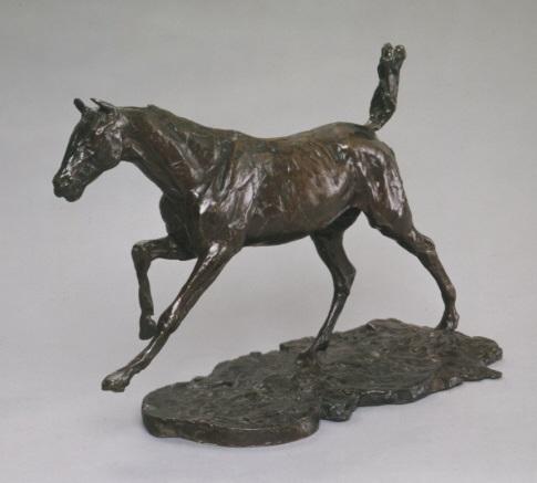 Edgar Degas, *Cheval galopant*, v. 1889-90