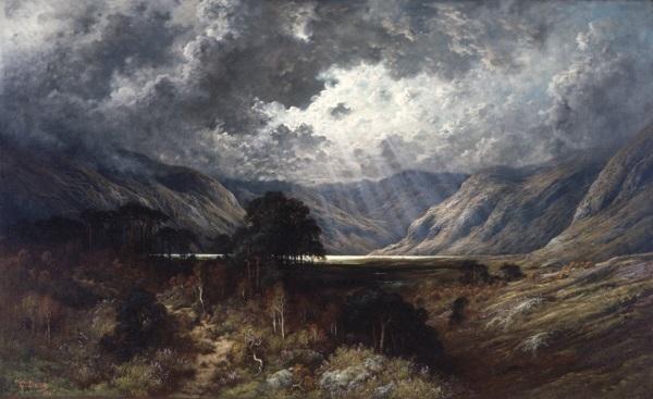 Gustave Doré, *Loch Lomond*, 1875