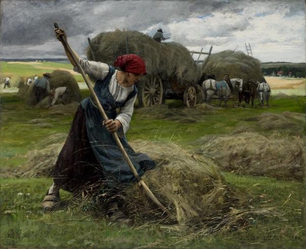 Julien Dupré, *La Fenaison*, 1884