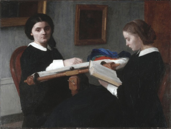 Henri Fantin-Latour, *The Two Sisters*, 1859