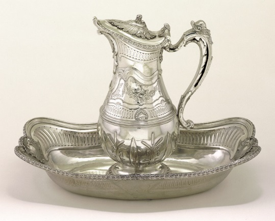 Jean Fauche, Ewer and Basin, c. 1740