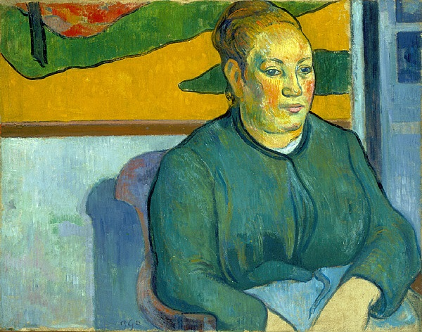 Paul Gauguin, *Madame Roulin*, 1888