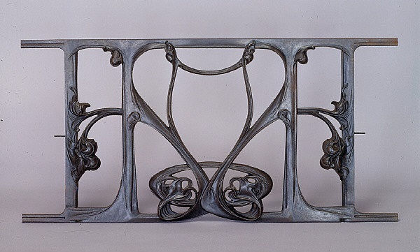 Hector Guimard Balustrade 1905 French Art