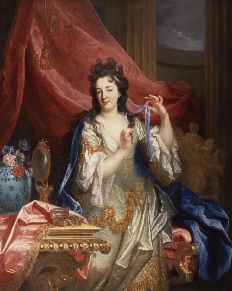 Nicolas de Largillière, *Portrait d'une femme*, v. 1696