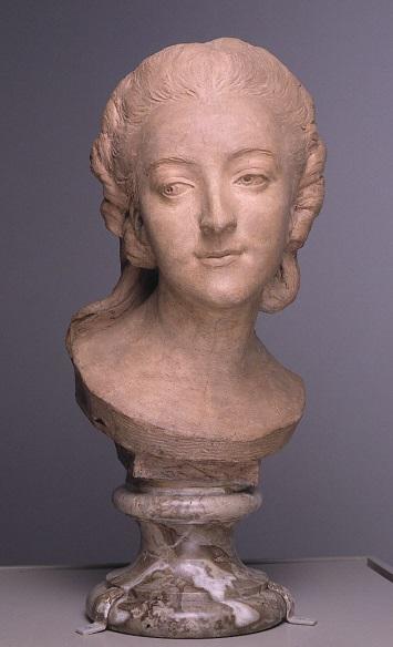 Jean-Baptiste II Lemoyne, *Madame du Barry*, v. 1771