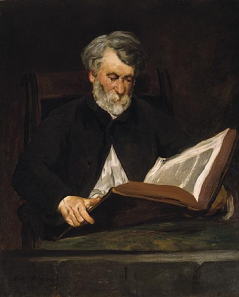Édouard Manet, *Le Liseur*, 1861