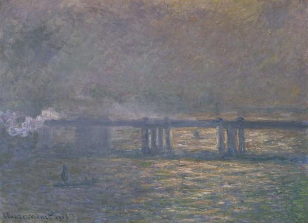 Claude Monet, *Charing Cross Bridge*, 1903