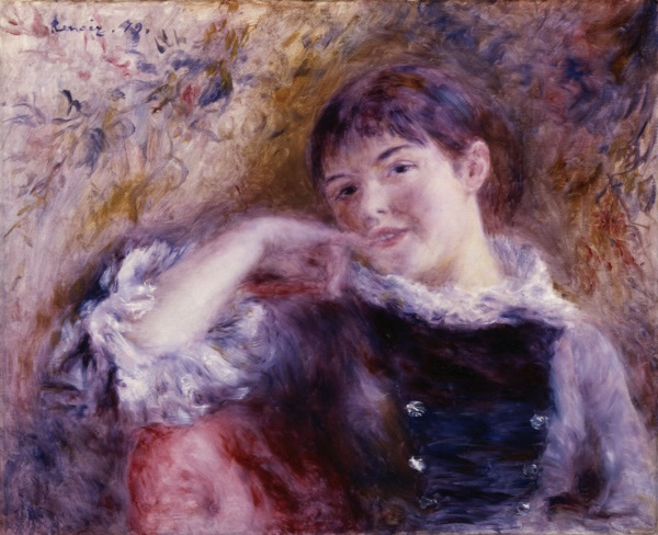 Pierre-Auguste Renoir, *The Dreamer*, 1879
