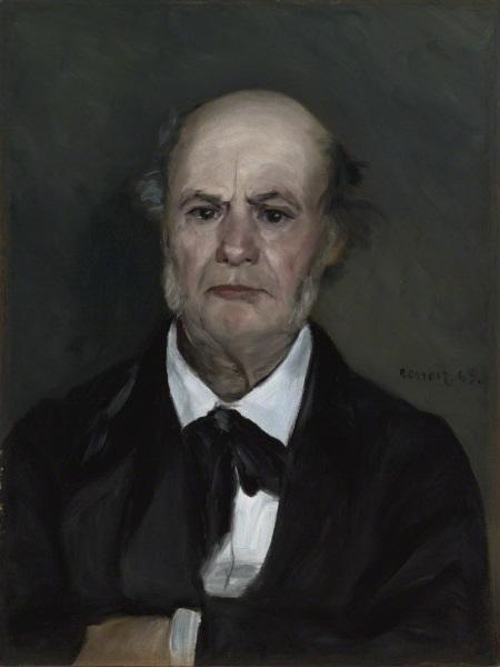 Pierre-Auguste Renoir, *Léonard Renoir, the Artist's Father*, 1869