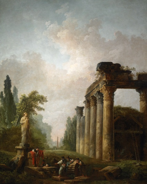 Hubert Robert, *The Ruin*, 1789