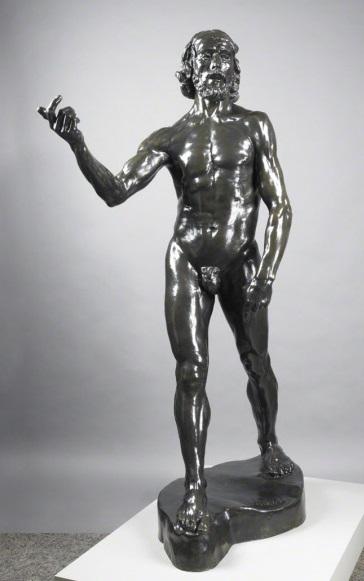 Auguste Rodin, *Saint Jean Baptiste*, 1878