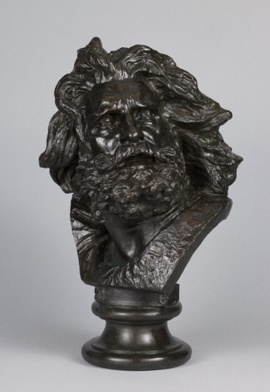 François Rude, *Tête d'un Gaulois*, v. 1833-35