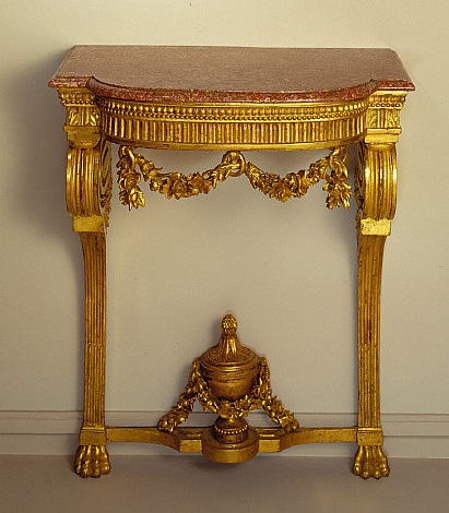 Artiste anonyme, Table, v. 1780
