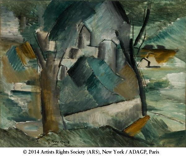 Georges Braque, *Carrières-Saint-Denis*, 1910