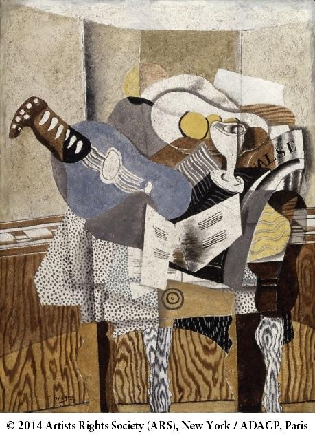 Georges Braque, *La Mandoline bleue*, 1930