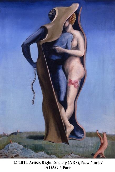 Max Ernst, *Vive l'amour ou Pays charmant*, 1923