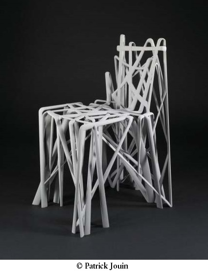 Patrick Jouin, *Chaise solide C2*, 2004