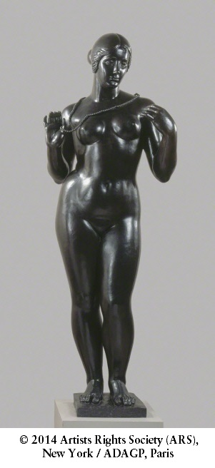 Aristide Maillol, *Venus with Necklace*, 1928-29