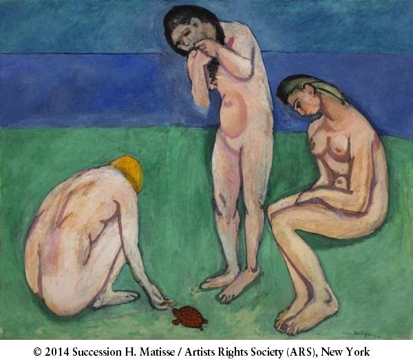 Henri Matisse, *Baigneuses avec une tortue*, 1907-08