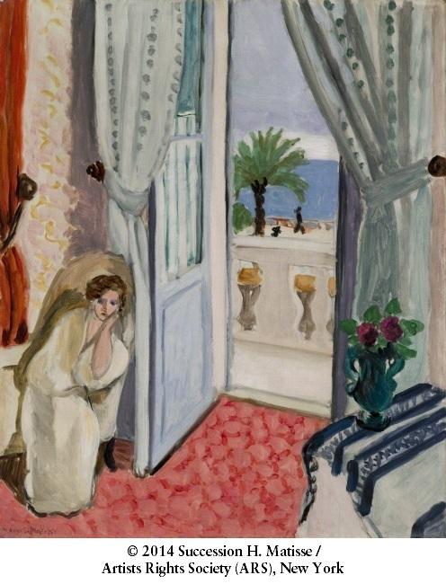 Chambre rose matisse design de maison for Interieur cours nice