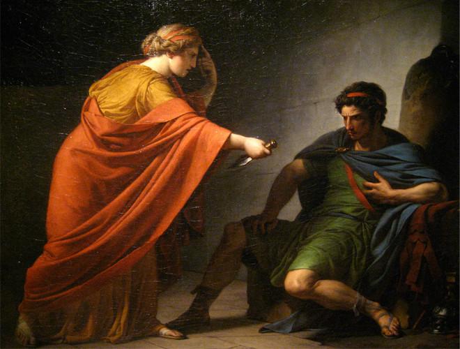 François-André Vincent, *Arria and Paetus*, 1784