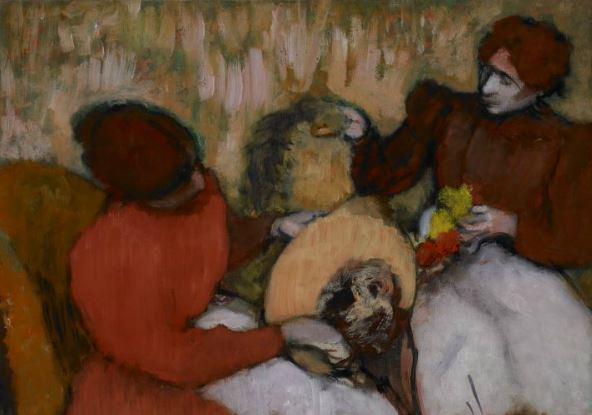 Edgar Degas, *The Milliners*, c. 1898