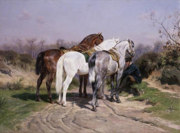 Rosa Bonheur, *Relais de chasse*, 1887